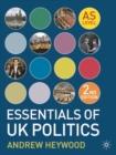 Image for Essentials of UK politics