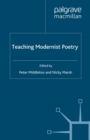 Image for Teaching Modernist Poetry