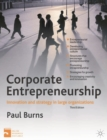 Image for Corporate entrepreneurship  : innovation and strategy in large organizations