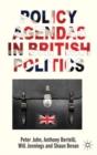 Image for Policy agendas in British politics