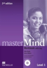 Image for masterMind 2nd Edition AE Level 1 Workbook Pack with key