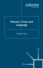Image for Women, crime, and language