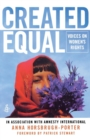 Image for Created equal  : voices on women's rights