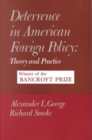 Image for Deterrence in American foreign policy  : theory and practice