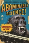 Image for Abominable science!  : origins of the yeti, Nessie, and other famous cryptids