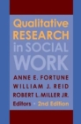 Image for Qualitative research in social work