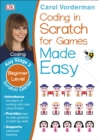 Image for Computer coding Scratch games made easy