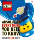 Image for LEGO absolutely everything you need to know.