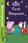 Image for Peppa Pig: First Sleepover - Read It Yourself with Ladybird Level 2