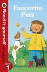 Image for Favourite Pets - Read It Yourself with Ladybird Level 1