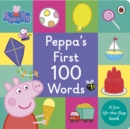 Image for Peppa's first 100 words