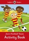 Image for Jon's Football Team Activity Book - Ladybird Readers Level 1