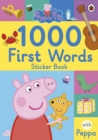 Image for Peppa Pig: 1000 First Words Sticker Book