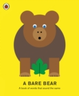 Image for A bare bear  : a book of words that sound the same