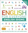 Image for English idioms  : learn and practise common idioms and expressions