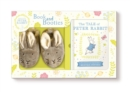 Image for Tale of Peter Rabbit Book and First Booties Gift Set