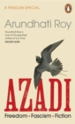 Image for Azadi  : freedom, fascism, fiction