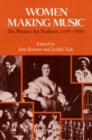 Image for Women making music  : the Western art tradition, 1150-1950