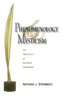Image for Phenomenology and mysticism  : the verticality of religious experience