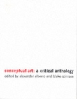 Image for Conceptual Art : A Critical Anthology
