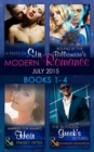Image for Modern romanceBooks 1-4: July 2015