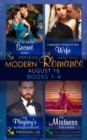 Image for Modern romance August 2016Book 1-4 : The di Sione Secret Baby / Carides's Forgotten Wife / The Playboy's Ruthless Pursuit / His Mistress