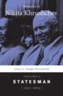 Image for Memoirs of Nikita Khrushchev : Volume 3: Statesman, 1953-1964