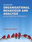 Image for Organisational behaviour and analysis  : an integrated approach