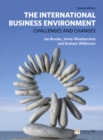 Image for The international business environment  : challenges and changes