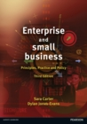 Image for Enterprise and small business  : principles, practice and policy