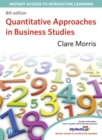 Image for Quantitative Approaches in Business Studies