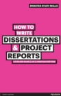 Image for How to write dissertations & project reports