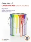 Image for Essentials of operations management