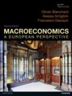 Image for Macroeconomics  : a European perspective