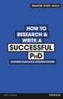 Image for How to research & write a successful PhD