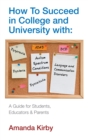 Image for How to succeed in college and university with specific learning difficulties: #autism spectrum conditions, #dyslexia, #dyspraxia, #DCD, #ADHD, #dyscalculia, #language and communication disorders : a guide for students, educators & parents