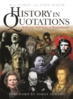 Image for History in quotations