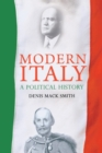 Image for Modern Italy  : a political history