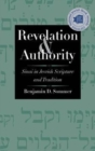 Image for Revelation and Authority : Sinai in Jewish Scripture and Tradition