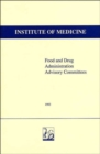 Image for Food and Drug Administration Advisory Committees