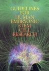 Image for Guidelines for human embryonic stem cell research