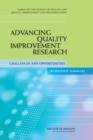 Image for Advancing quality improvement research: challenges and opportunities - workshop summary