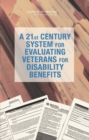 Image for A 21st century system for evaluating veterans for disability benefits