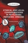 Image for Ethical and legal considerations in mitigating pandemic disease: workshop summary