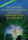 Image for The National Academies' guidelines for human embryonic stem cell research: 2008 amendments