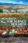 Image for Frontiers in soil science research: report of a workshop
