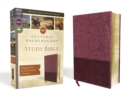 Image for NRSV, Cultural Backgrounds Study Bible, Leathersoft, Burgundy, Comfort Print : Bringing to Life the Ancient World of Scripture