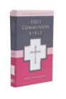 Image for NAB, First Communion Bible: New Testament, Imitation Leather, Black : NAB New Testament