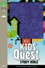 Image for NIrV, Kids' Quest Study Bible, Leathersoft, Purple : Answers to over 500 Questions about the Bible