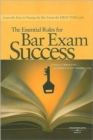 Image for The Essential Rules for Bar Exam Success